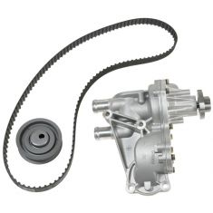 93-02 VW Jetta Golf Cabrio Passat L4 2.0L ABA Timing Belt Kit with Water Pump (Gates)