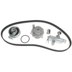 99-05 Audi A4; 01-05 VW Passat 1.8T Timing Belt Kit with Water Pump (Metal Impeller) (Gates)