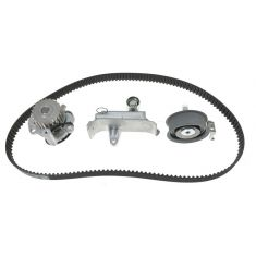 00-05 Audi TT; 99-06 VW Multifit 1.8LTTiming Belt Kit with Water Pump ( metal impeller) (Gates)