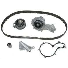 97-00 Audi; 98-99 VW 1.8T (153 tooth) Timing Belt Kit with Water Pump (Gates)
