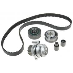 98-04 VW Jetta Golf Beatle 1.9l Diesel Timing Belt Kit with Water Pump (metal impeller) (Gates)