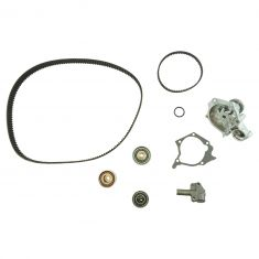 99-05 Sonata; 01-05 Magentic, Optima; 01-06 Sante Fe Tmng Blt & Comp Kit w/Wtr Pmp (7 Piece) (Gates)