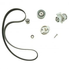 10-13 A3, Golf; 09-13 Jetta Timing Belt & Comp Kit w/Water Pump w/Metal Impeller (6 Piece) (Gates)