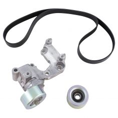 06-10 IS250; 10-15 RX350; 06-18 Toyota Multifit w/2.5L, 3.5L (3 Comp) Accesy Belt Drive Kit (Gates)