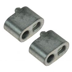 GM LS Series Engine Coolant Hose Block Off Plug/Cover PAIR (GM)