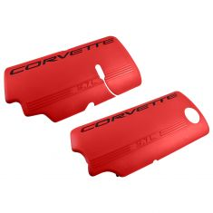 99-04 Corvette 5.7L Red Fuel Rail Coil Cover Pair (GM)