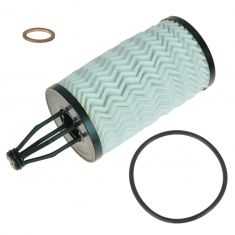 11-15 MB C, CL, CLS, E, GL, GLK, ML, R, S, SLK Engine Oil Filter w/Hsg Gsket & Drain Plug Gkt (MB)