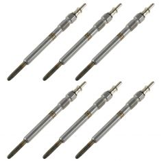 07-09 Jeep Grand Cherokee, Dodge, Freightliner Sprinter 3.0L Diesel Glow Plug (Set of 6) (Mercedes)