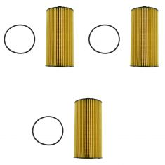 03-10 Ford F250 F350 Super Duty Diesel Oil Filter Set of 3 (Motorcraft)