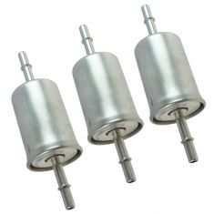03-16 Ford Lincoln Mercury Multifit Fuel Filter Set of 3 (Motorcraft)