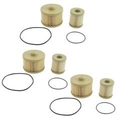 04-10 Ford E350 Van Fuel Filter 6.0L Diesel Set of 3 (Motorcraft)