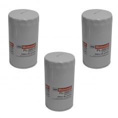 11-17 Ford F250SD, F350SD, F450SD, F550SD w/6.7L Oil Filter (Motorcraft) Set of 3