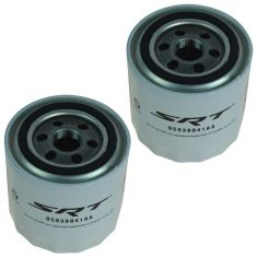 08-15 Dodge, Chrysler, Jeep w/5.7L, 6.1L, 6.4L, 8.4L SRT Performance Engine Oil Filter Pair (Mopar)