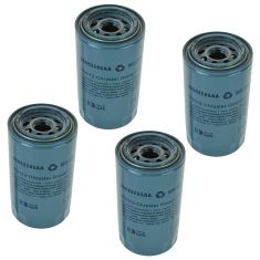 89-15 Dodge Ram 2500, 3500 w/5.9L, 6.7L Dsl; 05-14 4500 6.7 Dsl Engine Oil Filter (Set of 4)(Mopar)