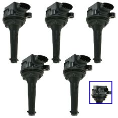 Ignition Coil (Set of 5)