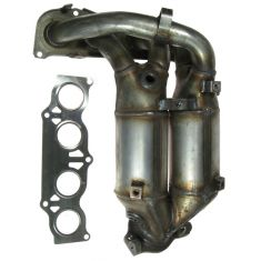 01-03 Toyota Rav4 Exhaust Manifold with Catalytic Converter