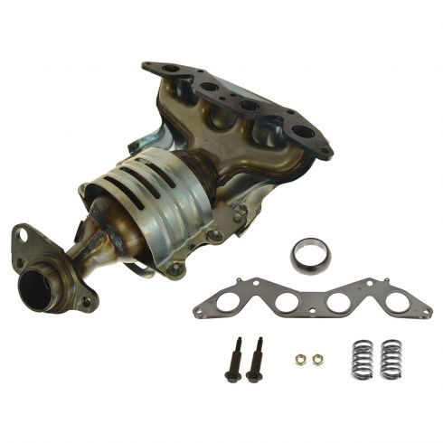01 05 Honda Civic Exhaust Manifold W/Integral Cat