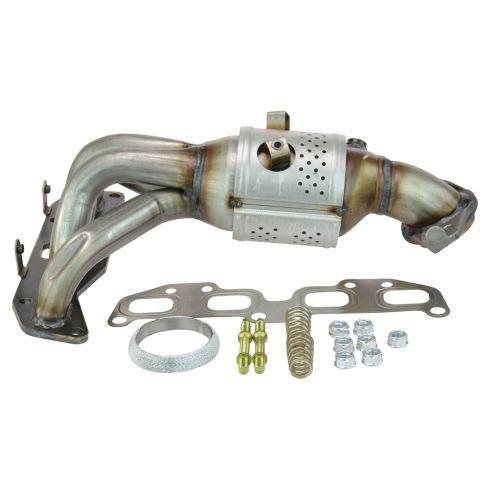 02 06 Nissan Altima Sentra 2.5L Exhaust Manifold W/Catalytic Convertor