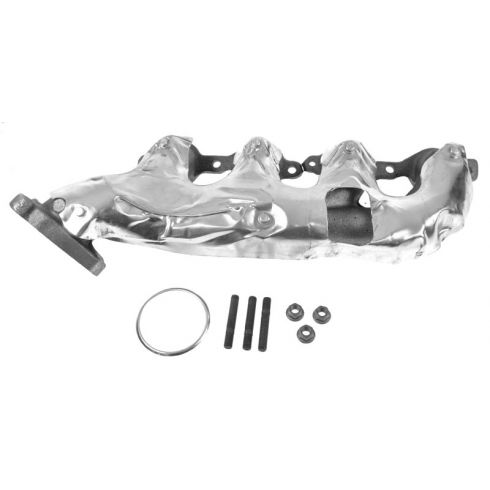How to install replace exhaust manifold 53l silverado sierra 2002 10 gm pu suv multifit 48l 53l 60l exhaust manifold publicscrutiny Gallery