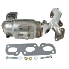 2000-01 Mazda MPV 2.5L (w/CALF Emissions) Exh Manifold w/Catalytic Convertor & Gasket Kit LH (Front)