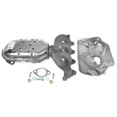 2006-09 Hyundai Accent; 06-10 Kia Rio 1.6L DOHC Exh Man w/Catalytic Convertor & Gasket Kit RH (Rear