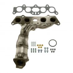 97-01 Toyota Camry; 99-01 Solara 2.2L Exhaust Manifold w/Catalytic Converter & Gasket Install Kit