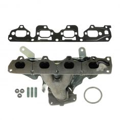 02-06 GM 2.2L Multifit Exhaust Manifold w/Heat Shield & Gasket Install Kit
