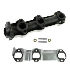 04-07 GM Mid Size FWD Multifit w/3.1L, 3.4L Front Exhaust Manifold w/Gasket & Install Kit LH