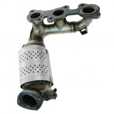 02-06 Camry w/3.0L; 02-03 ES300 Front Exhaust Manifold w/Integral Catalytic Convertor & Gasket LH