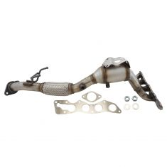13-17 Ford Escape w/2.5L Exh Man w/Catalytic Converter & Front Pipe w/Gasket & Hrdwre Kit
