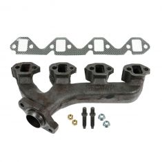86-96 Ford Truck Lincoln Mercury 302 Exh Manifold & Gasket Kit LH (Dorman)