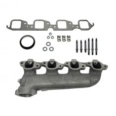 70-97 GM Truck 454 Exh Manifold w/air & Gasket Kit LH (Dorman)