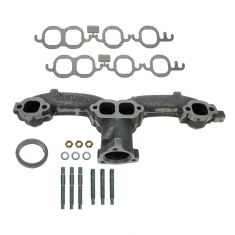 64-71 Chevy Multifit Small Block Exh Manifold & Gasket Kit LH (Dorman)
