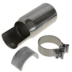 05-15 Toyota Tacoma Stainless Steel Exhaust Tip w/Clamp (Toyota)