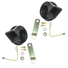 High and Low Tone Horn Pair