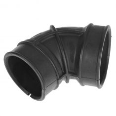 96-03 Pathfinder; 97-00 QX4 w/3.3L Throttle Body Air Intake Duct Molded Rubber Curved Boot (Nissan)