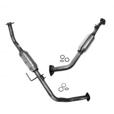 01-04 Toyota Sequoia w/4.7L Front Exhaust Pipe w/Integral Catalytic Converter PAIR