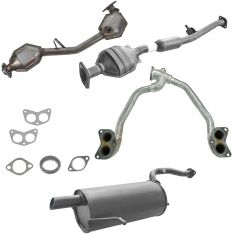 03-05 Subaru Forester Complete Exhaust System with Catalytic Converter for 2.5L