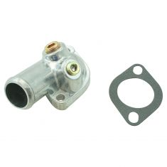 77-82 Checker; 63-93, 96-97 GM Mulitfit w/V6, V8 Thermostat Housing w/Gasket (DM)