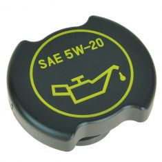 01-15 Ford; 00-15 Lincoln; 00-11 Merc Multi Black & Yellow ~SAE 5W-20~ Half Turn Oil Filler Cap (MC)