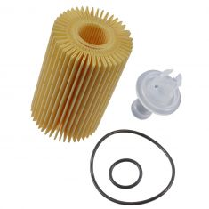 07-15 Toyota Multifit w/4.6L, 5.7L; 08-15 Lexus LX570 Engine Oil Filter Cartridge Kit (Toyota)