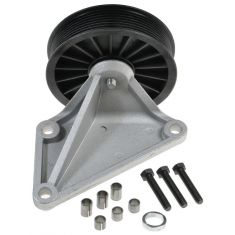 1993-97 Ford F-Series Truck E-Series Van Air Conditioning Compressor Bypass Pulley for 7.3L Diesel