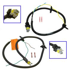 97-05 Grand Am Malibu Alero Achieva ABS Harness Front Pair