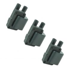 91-98 Dodge Mitsubishi 6 Cyl Multifit Ignition Coil (SET of 3)