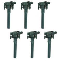 98-06 Chrysler 3.2L 3.5L Ignition Coil (SET of 6)