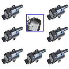 99-07 Buick Cadillac Chevy Hummer Isuzu Ignition Coil (ID 19005218) (SET of 8)