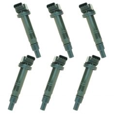 03-08 Toyota 6 Cyl Multifit Ignition Coil (SET of 6)