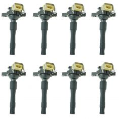 95-03 BMW 5, 7, 8, X, Z Series Plug Mounted Ignition Coil (SET of 8)