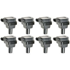 1996-02 Mercedes Benz CL, E. S Class Ignition Coil Set of 8