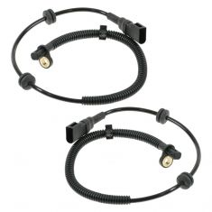 2000-03 Ford Focus ABS Wheel Speed Sensor Rear PAIR